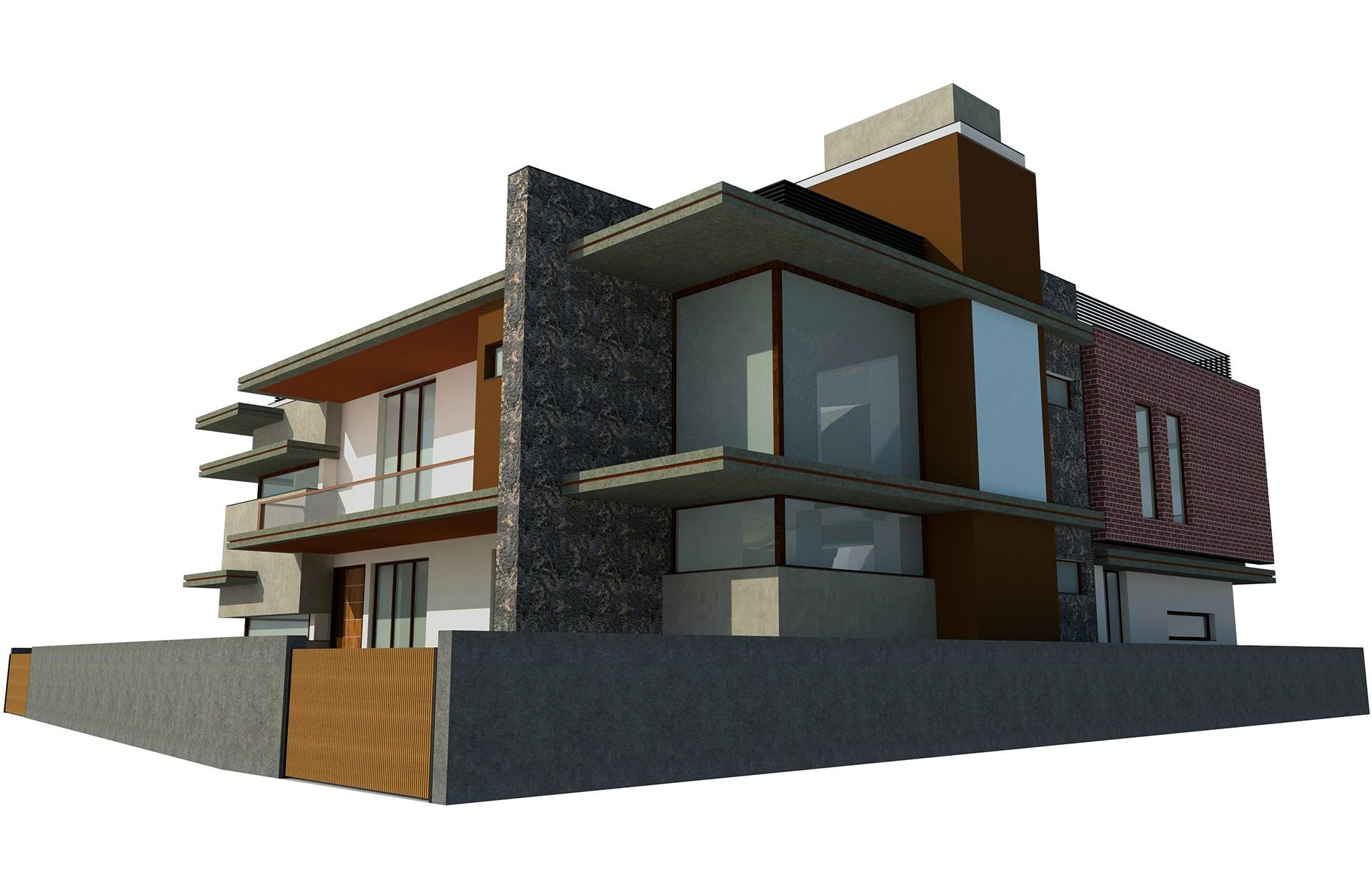 Proposed Twin Bungalow @ Mehsana side